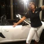 Atty met Porsche