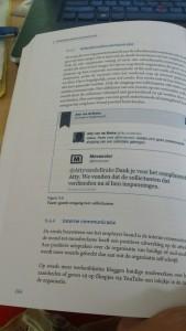 Tweet in boek klein