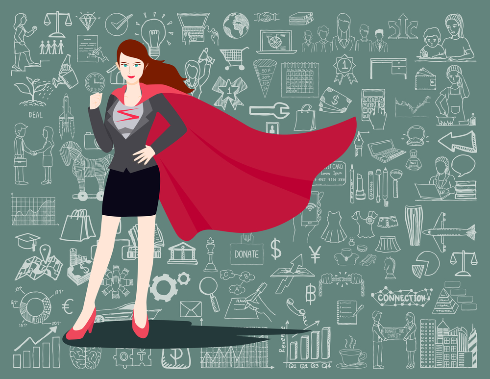 vrouw ondernemer hsp